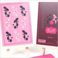 Fluff ( fluff ) ( Friendship ) greeting card Poodle rama