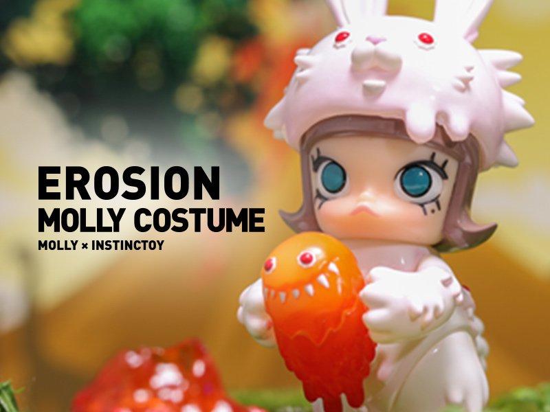 コレクション, ソフビ人形 MOLLY INSTINCTOY EROSION MOLLY COSTUME