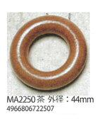 【パーツ】メルヘンアート MA2250ウッドリング外径44mm 3袋【3組入】【パーツ】【取寄商品】編み物/手芸/手編み/毛糸