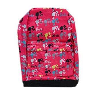 巴比Barbie背包輪廓粉紅11592 Barbie包背帆布背包包進口yuu分組不可能