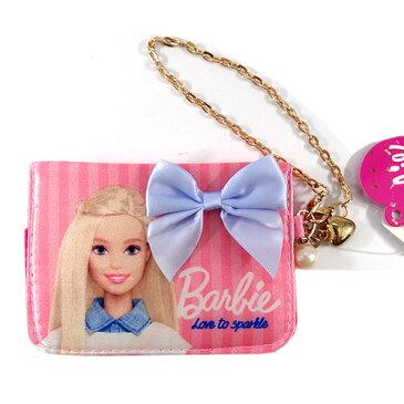 バービー Barbie サテンパスケース ライトピンク 11655 Barbie パスケース 定期入れ 通勤 通学 定期 財布 メール便配送 05P03Sep16子供会 クリスマス 景品