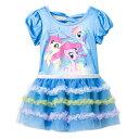 マイリトルポニー キッズドレス 2歳用 12153 My Little Pony ドレス ワンピース 女の子 洋服 水色 ポニー メール便不可
