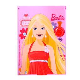 バービー Barbie ミラー M 送料無料 メール便配送 12454 スタンドミラー 鏡 かがみ ピンク【10】