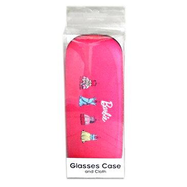 めがねケース おしゃれ バービー ピンク 眼鏡ケース BARBIE Barbie めがね 眼鏡 メガネケース クロス付 12708