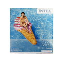 INTEX うきわ (アイスクリーム) 13930 プールフロート かわいい 浮き輪 浮輪 大人用 大きい 大型 プール 海 おしゃれ おもしろ SNS インスタ映え アメリカ 雑貨 グッズ メール便不可