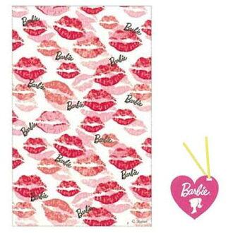 可巴比Barbie清除包M接吻花紋包包裝PP袋人物情人節點心yuu分組