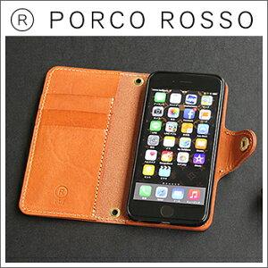 【送料無料】PORCO ROSSO(ポルコロッソ) 手帳型iPhone6ケース(iPhone6…