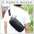 PORCO ROSSO(ポルコロッソ)スクエアクロスボディバッグ [nouki4]