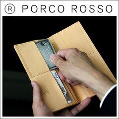 PORCOROSSO(ポルコロッソ)長札入れ革日本製[sokunou]upup7