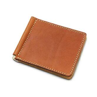 PORCO ROSSO leather money clip [3 business days] 【wa08】