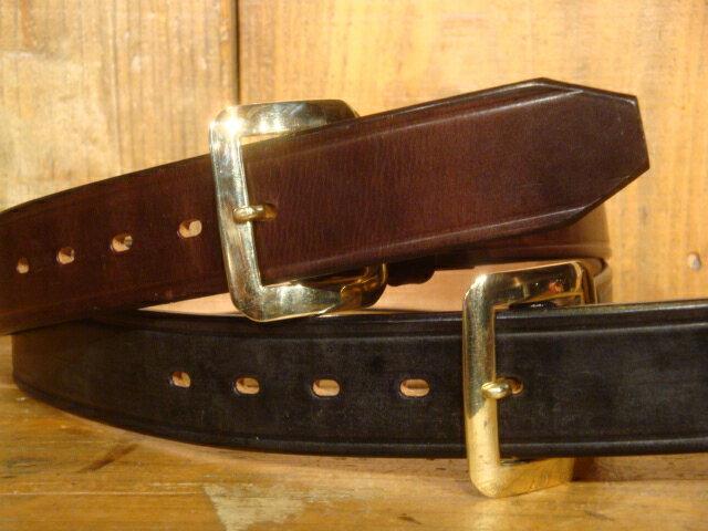 ベルト・サスペンダー, メンズベルト  RAINBOW COUNTRY U.K. Saddle Leather Single Pin BeltUK RCL-60015