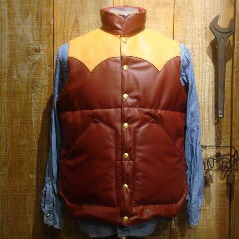トップス, ベスト・ジレ  RAINBOW COUNTRY All Leather Primaloft Vest RCL-10057HC
