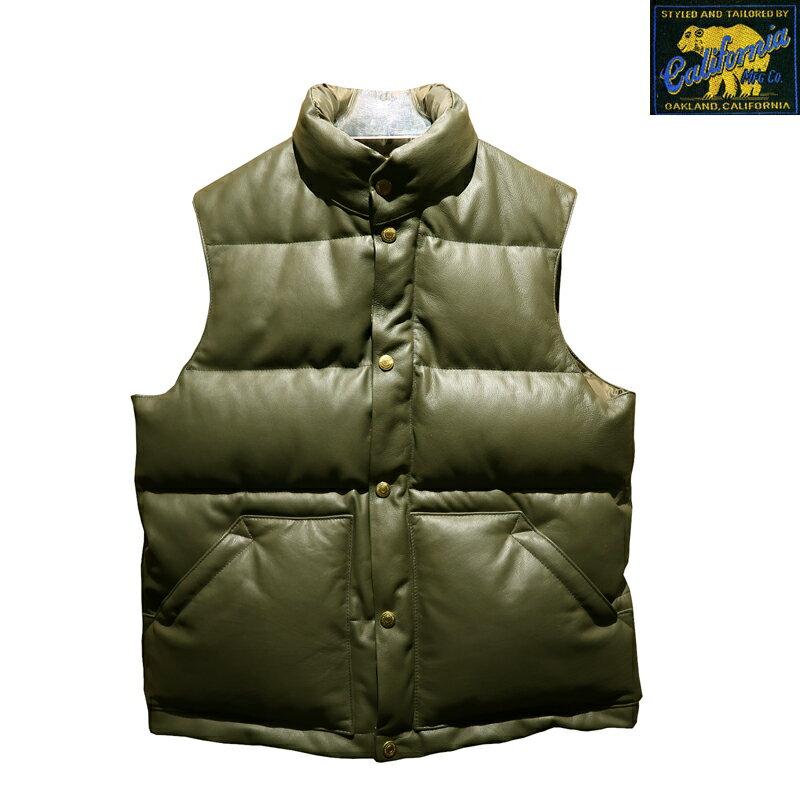 メンズファッション, コート・ジャケット  RAINBOW COUNTRY Horsehide Down Vest CHALLENGER RCL-10073