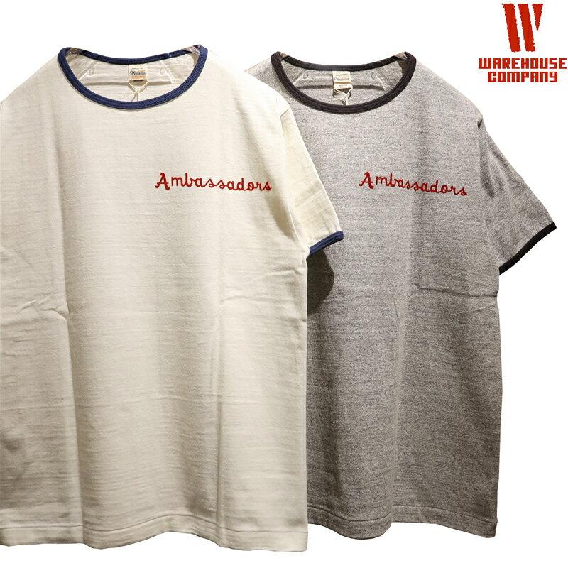 トップス, Tシャツ・カットソー 525 WAREHOUSE Lot.4059 NATIONAL CAPITAL T