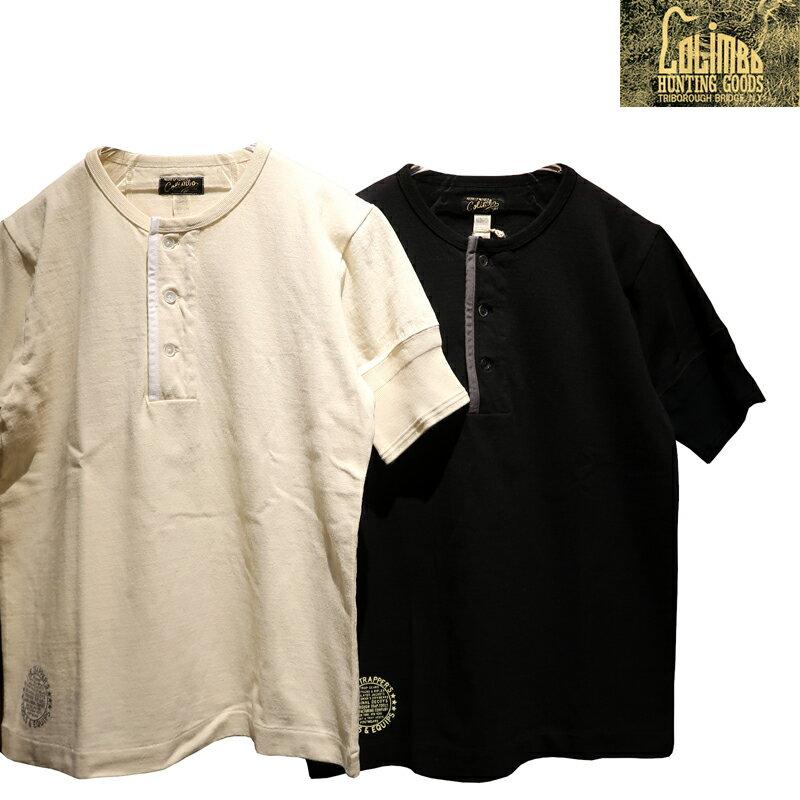 トップス, Tシャツ・カットソー  COLIMBO SILVER POINT HENLEY NECK TEET ZV-0417