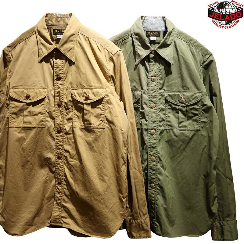 トップス, カジュアルシャツ  JELADO BASIC COLLECTION Pressman Shirt AG41125