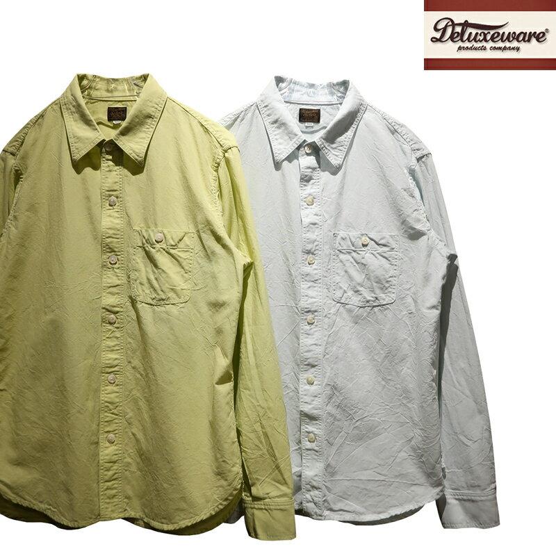 トップス, カジュアルシャツ  DELUXEWARE THROUGH DUNGAREE LV-20