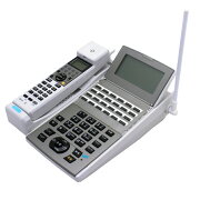 【中古ビジネスホン/中古ビジネスフォン】【中古】NTTaNX2用カールコードレスNX2-24CCLSTEL-(1)(W)24ボタン【ビジネスホン/ビジネスフォン業務用電話機カールコードレス】