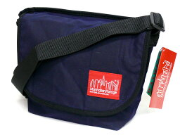 Waxed Canvas Messenger Bag 1604WCN: Navy