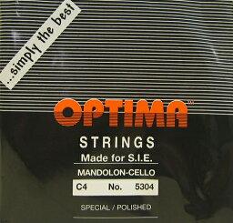 OPTIMA オプティママンドチェロ弦 BLACK 4C 1本入り