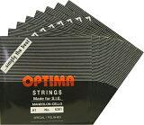 【メール便対応商品】OPTIMA オプティママンドチェロ弦 BLACK SET