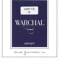 【セール品】WARCHALametystワーシャルアメティストバイオリン弦4G1/2サイズ