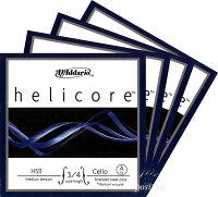 【メール便対応商品】Helicoreヘリコアチェロ弦SET3/4〜1/8サイズ