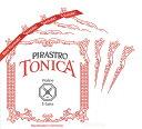 大きい音量を持つ弦。【メール便対応商品】【Tonica】トニカバイオリン弦 セット(1E=スチール/...