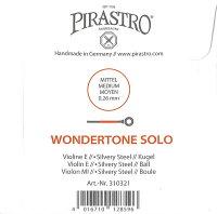 【メール便対応商品】【WondertoneSolo】ワンダートーンソロバイオリン弦セット(1E=シルバリースチール・3106/3103)