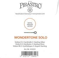【メール便対応商品】【WondertoneSolo】ワンダートーンソロバイオリン弦3D(4103)