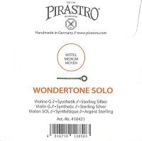 【メール便対応商品】【WondertoneSolo】ワンダートーンソロバイオリン弦4G(4104)