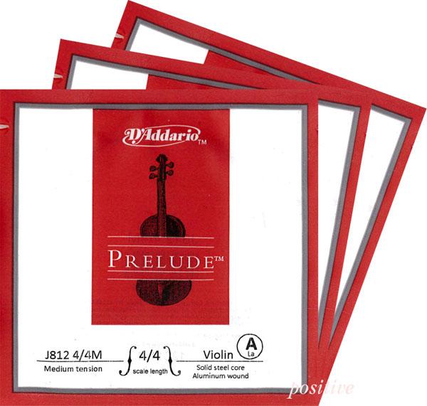 バイオリン用アクセサリー・パーツ, 弦 Prelude 2A3D4G 44116