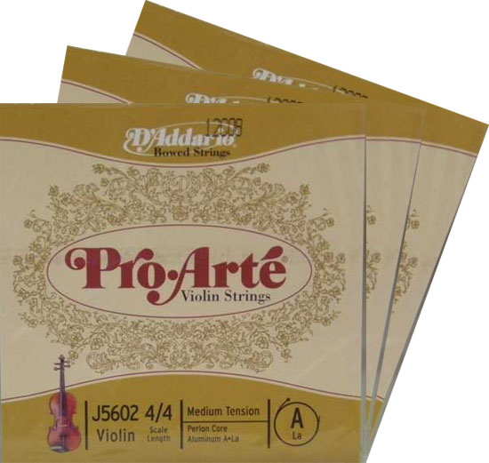 バイオリン用アクセサリー・パーツ, 弦 ProArte 2A3D4G 4418