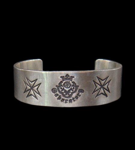 メンズジュエリー・アクセサリー, バングル GABORATORY GABOR Flat Bar Bangle BG-11 silver 925 925