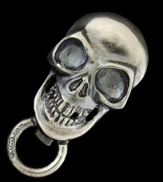 GABORATORY GABOR ガボール ガボラトリー Giant Skull Key Keepers [KK-10] silver 正規取扱店/シルバー メンズ アクセサリー キーキーパー スカル 925 シルバー925