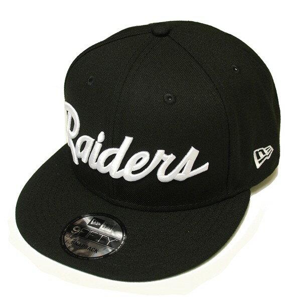 メンズ帽子, キャップ  NEWERA OAKLAND RAIDERS SNAPBACK CAP BLACK