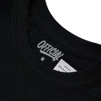 オフィシャルOFFICIALDOLOARCS/STシャツBLACK/ブラックTシャツ半袖