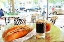 【ベトナムの風景ポストカードのAIR】ベトナム バインミーとベトナムコーヒーの朝食のはがきハガキ葉書 撮影/YOSHIO IWASAWA
