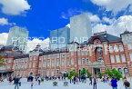 【文字入りポストカード】「東京」2018年東京駅丸の内駅ビルのハガキ photo by MIRO