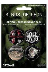 【送料¥250〜】 Kings Of Leon キングス・オブ・レオン カンバッチパック