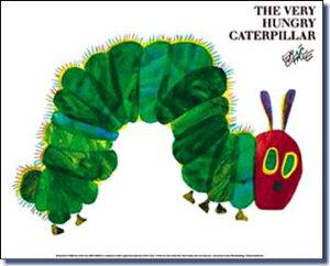 エリック ぺこあおむし ポスター Caterpillar