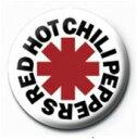 【送料¥216〜】 レッド・ホット・チリ・ペッパーズ (ロゴ) カンバッチ