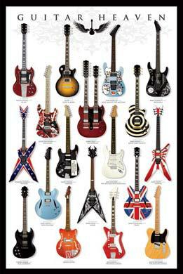 ギターヘブンGUITERHEAVENIポスター¥3800以上お買い上げで送料無料