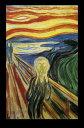 エドヴァルド ムンク Edvard Munch ムンクの叫び ポスター(110307)¥3800以上お買い上げで 送料...