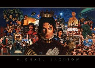 【送料¥216〜】 マイケル・ジャクソン Michael Jackson (Montage) ポストカード(110707)