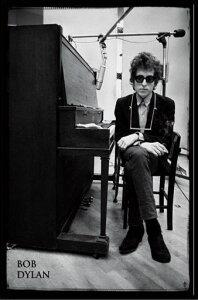 ボブ・ディラン Bob Dylan - Piano ポスター ポスター フレームセット【送料無料】