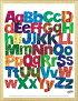 エリック・カール(EricCarle)はらぺこあおむしポスター木製フレームセットAlphabets\3800以上のお買い上げで送料無料!