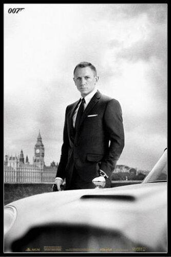 ジェームズ・ボンド アストンマーチン 007 スカイフォール ポスター フレームセット James Bond (...