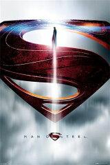 マン・オブ・スティール (スーパーマン) ポスター MAN OF STEEL - (GLYPH)¥3800以上お買い上げ...