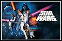 スター・ウォーズ エピソード4/新たなる希望 ポスターフレームセット Star Wars (A New Hope - Landscape)(140521)